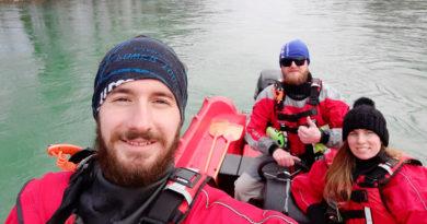 Vožnja s čolnom od Zaloga do Kresnic