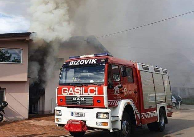 Požar večstanovanjskega objekta 15.5.2021